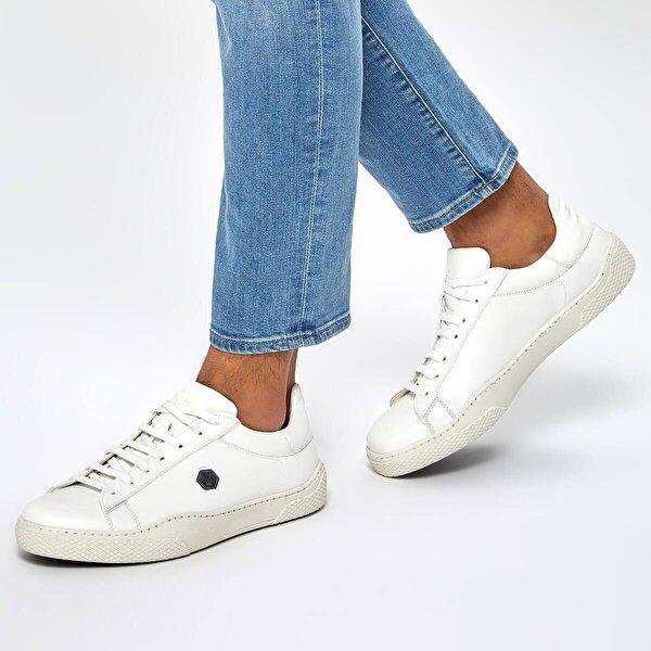 Lumberjack BIVOR 9PR Beyaz Erkek Sneaker Ayakkabı