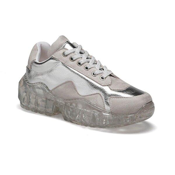 Butigo BİRDY Gümüş Kadın Sneaker Ayakkabı