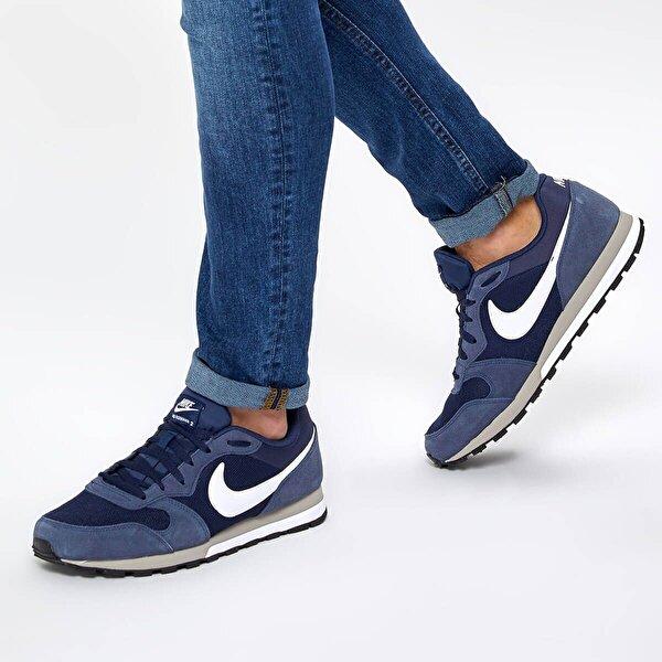 Nike MD RUNNER 2 Lacivert Erkek Sneaker Ayakkabı