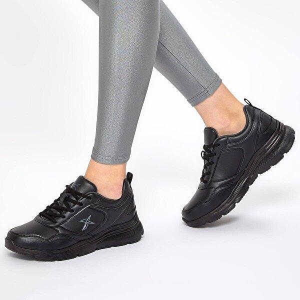 Kinetix SUOMY 9PR Siyah Kadın Comfort Ayakkabı