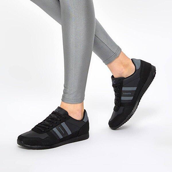 Kinetix CARTER PU W 9PR Siyah Kadın Sneaker Ayakkabı