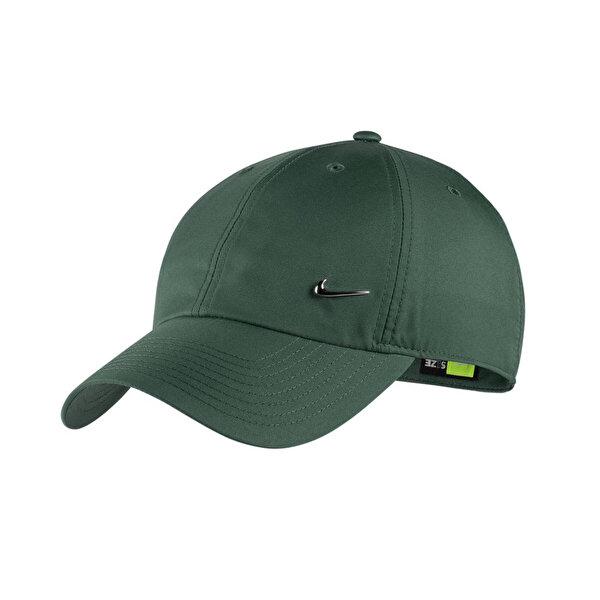 Nike U NK H86 CAP METAL SWOOSH Yeşil Unisex Şapka