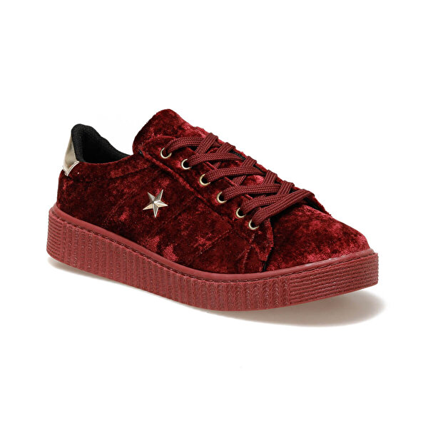 Seventeen CASY Bordo Kız Çocuk Sneaker Ayakkabı