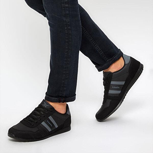 Kinetix CARTER PU M 9PR Siyah Erkek Sneaker Ayakkabı
