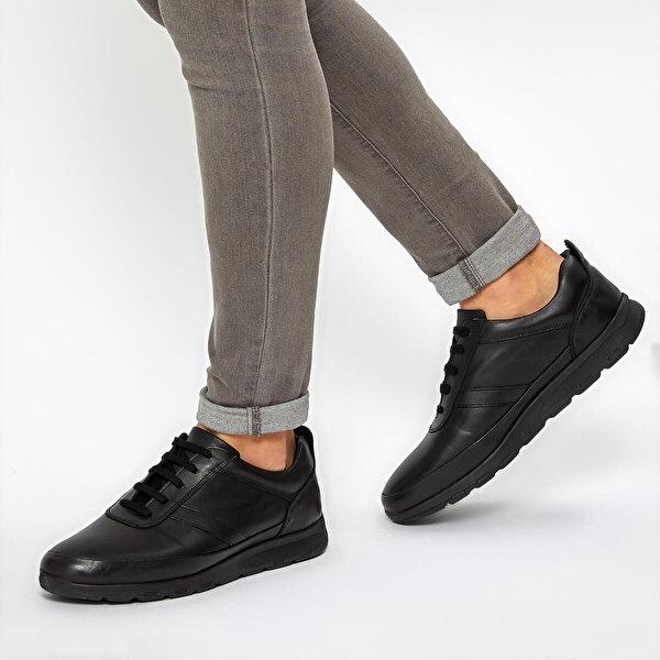 Flogart COM-332 Siyah Erkek Comfort Ayakkabı