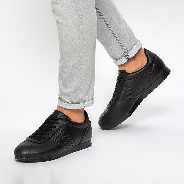 Torex CRESTA Siyah Erkek Ayakkabı