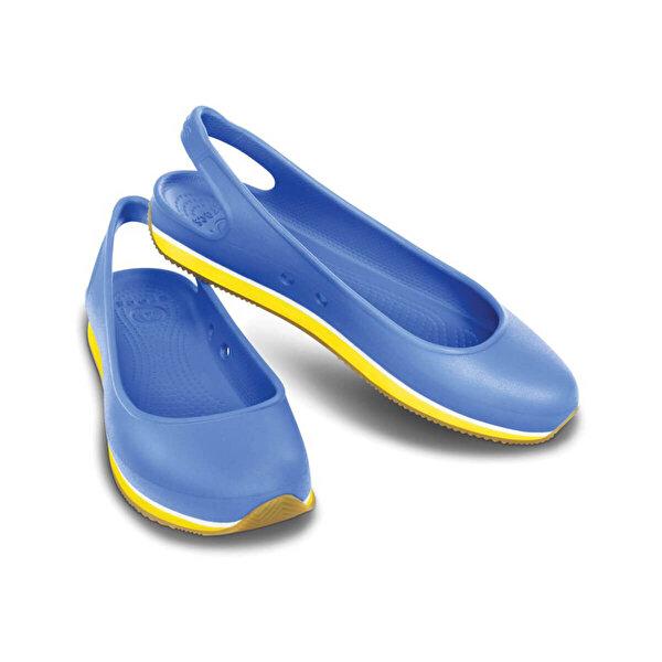 Crocs RETRO SLINGBACK FLAT WOME Mavi Kadın Sandalet