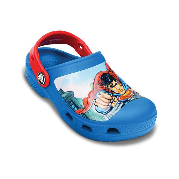 Crocs CREATIVE SUPERMAN CLOG Mavi Erkek Çocuk Sabo Terlik