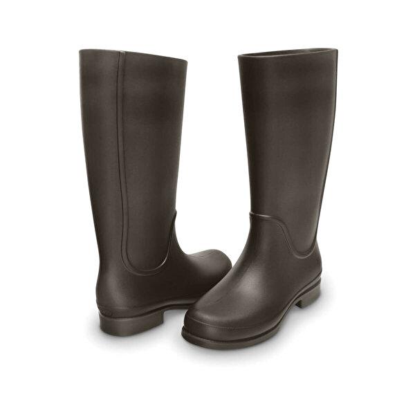 Crocs WELLIE RAIN BOOT WOMEN Kahverengi Kadın Çizme