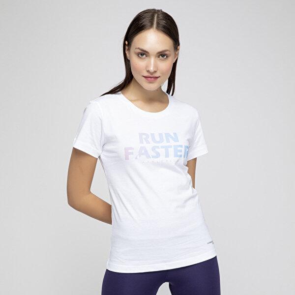 Lumberjack KATE 3 TSHIRT Beyaz Kadın Kısa Kol T-Shirt