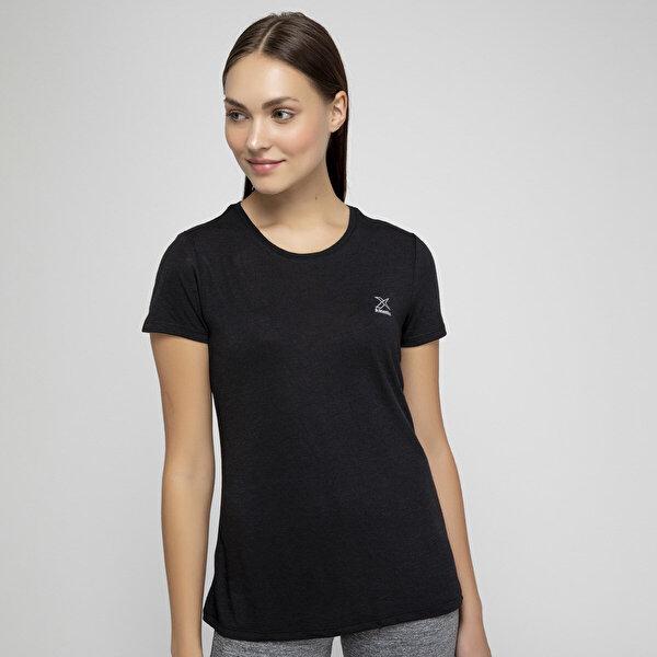 Kinetix BASIC T-SHIRT W Siyah Kadın T-Shirt