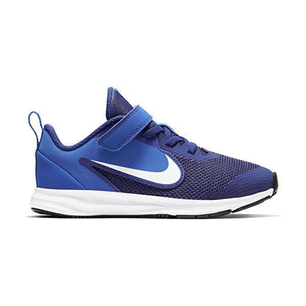 Nike DOWNSHIFTER 9 (PSV) Lacivert Erkek Çocuk Yürüyüş Ayakkabısı
