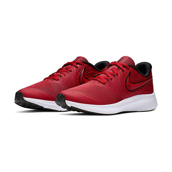 Nike STAR RUNNER 2 (GS) Kırmızı Erkek Çocuk Koşu Ayakkabısı