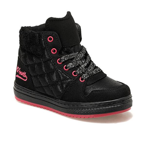 Kinetix LIZZE C 9PR Siyah Kız Çocuk Sneaker Ayakkabı