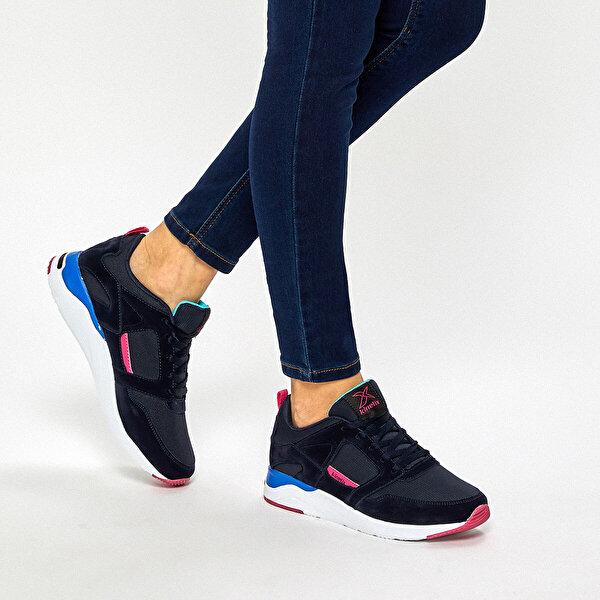 Kinetix ASTER TX W 9PR Lacivert Kadın Sneaker Ayakkabı