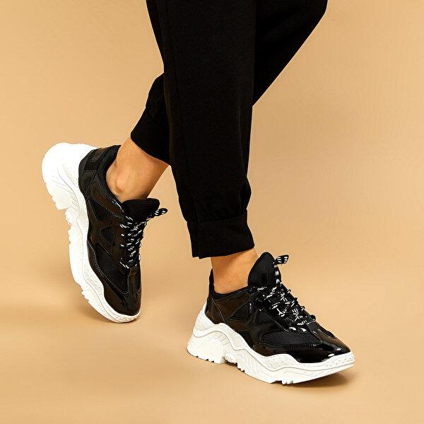 Butigo 19K-951 Siyah Kadın Sneaker