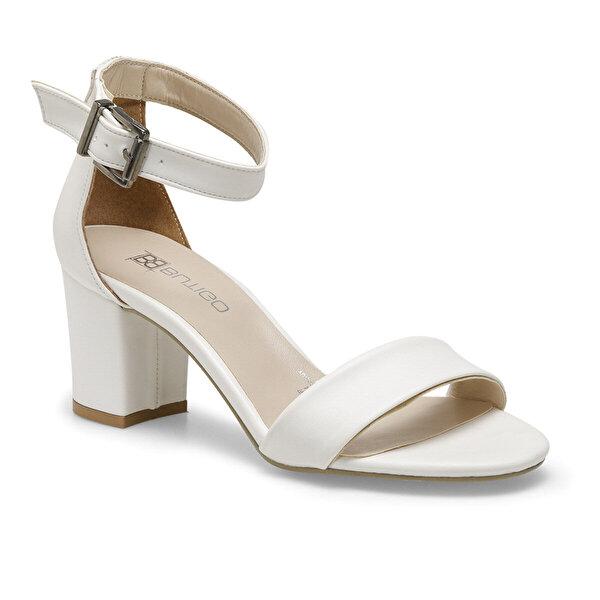 Butigo S1100-19IY Beyaz Kadın Sandalet