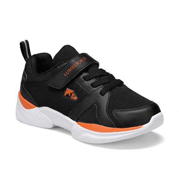 Lumberjack JAZZ Siyah Erkek Çocuk Yürüyüş Ayakkabısı