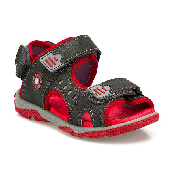 Polaris 512372.P Gri Erkek Çocuk Sandalet