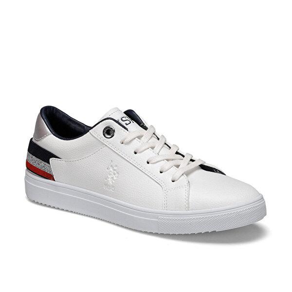 U.S. Polo Assn. TORY Beyaz Kadın Sneaker Ayakkabı