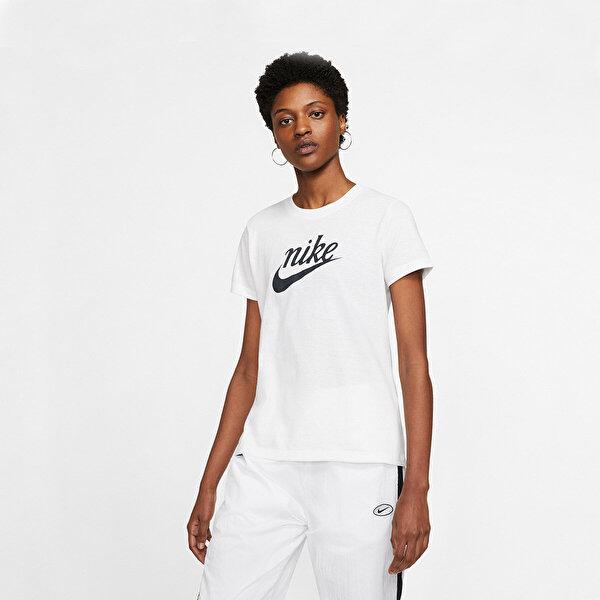 Nike SHORT SLEEVE T-SHIRT Beyaz Kadın T-Shirt
