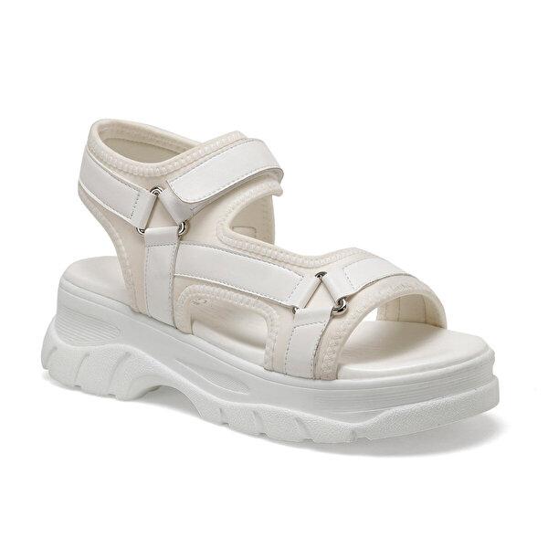 Butigo 20S-492 Beyaz Kadın Sandalet