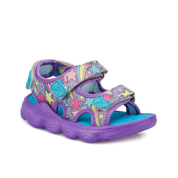 Kinetix ZENIT Mor Kız Çocuk Sandalet