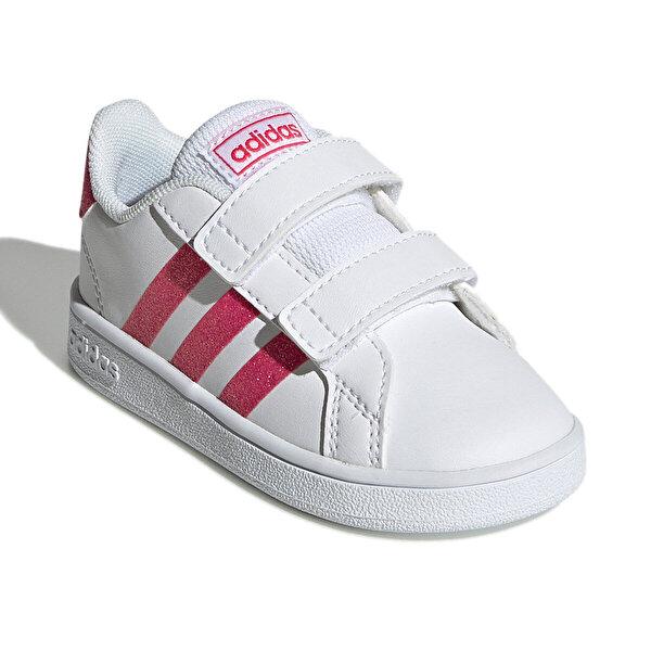 adidas GRAND COURT Pembe Kız Çocuk Sneaker Ayakkabı