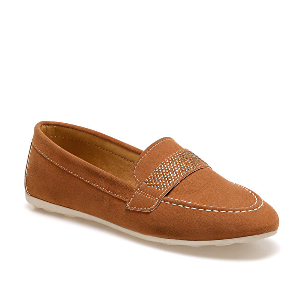 Butigo ADEL Taba Kadın Loafer Ayakkabı