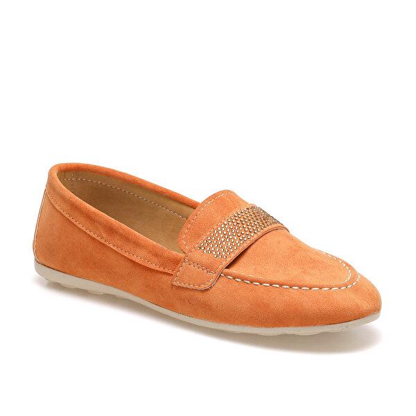 Butigo ADEL Turuncu Kadın Loafer Ayakkabı
