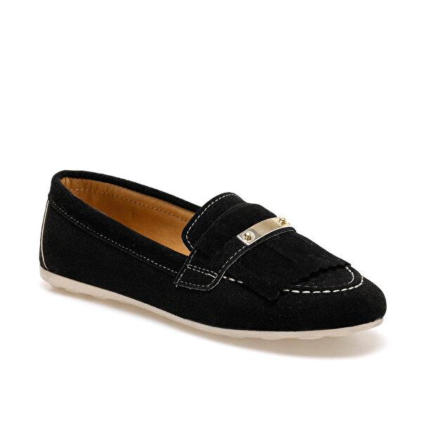Butigo DOLLY Siyah Kadın Loafer Ayakkabı
