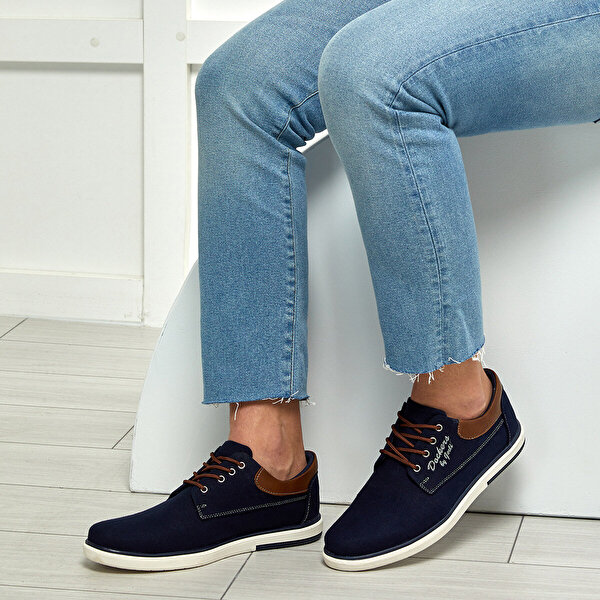 Dockers by Gerli 224942 Lacivert Erkek Sneaker Ayakkabı