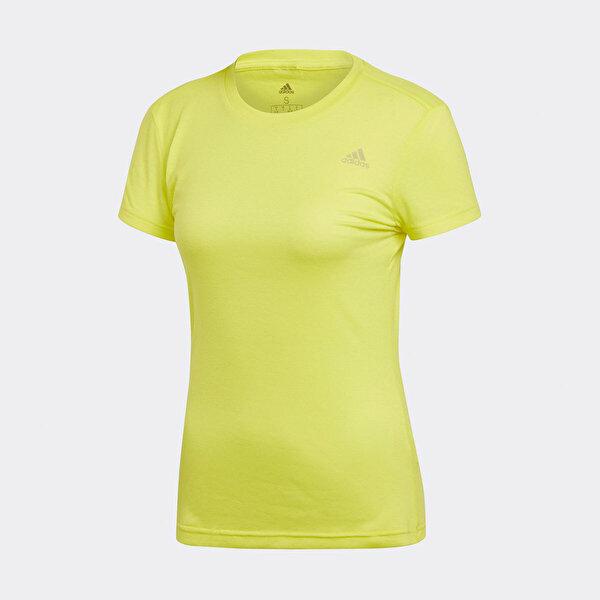 adidas FREELIFT PRIME Sarı Kadın Kısa Kol T-Shirt