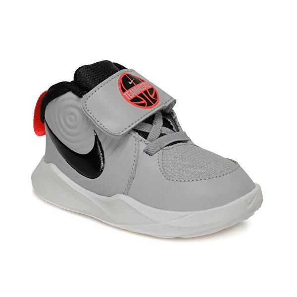 Nike TEAM HUSTLE D 9 Gri Erkek Çocuk Sneaker Ayakkabı