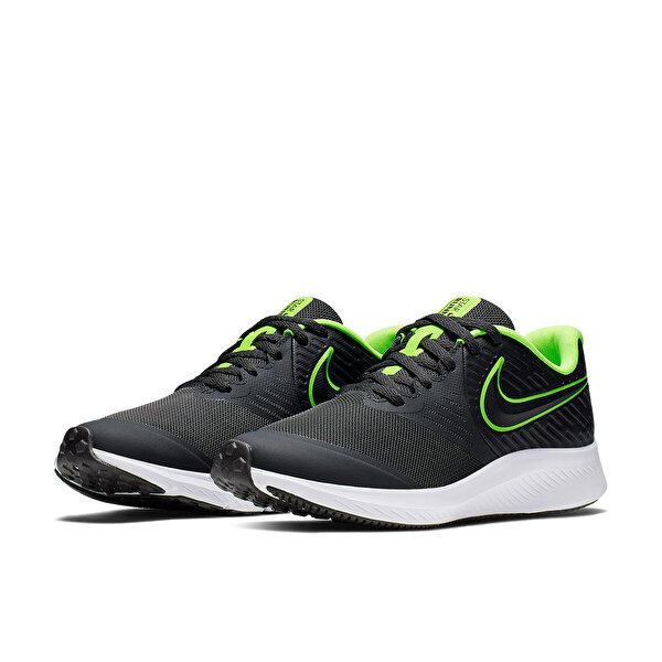 Nike STAR RUNNER 2 (GS) Antrasit Erkek Çocuk Koşu Ayakkabısı