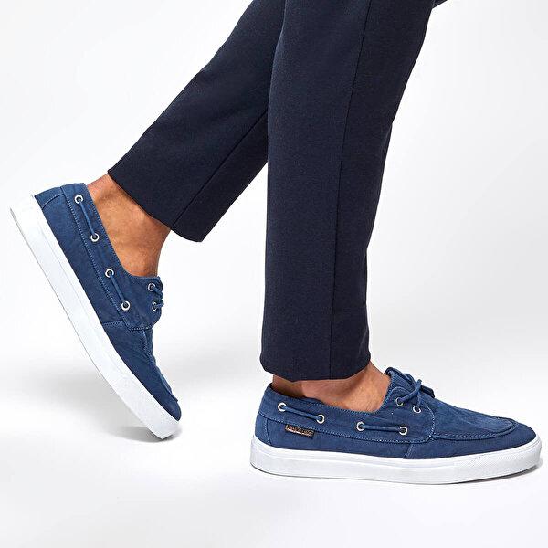 Lumberjack DAYTONA Mavi Erkek Marin Ayakkabı