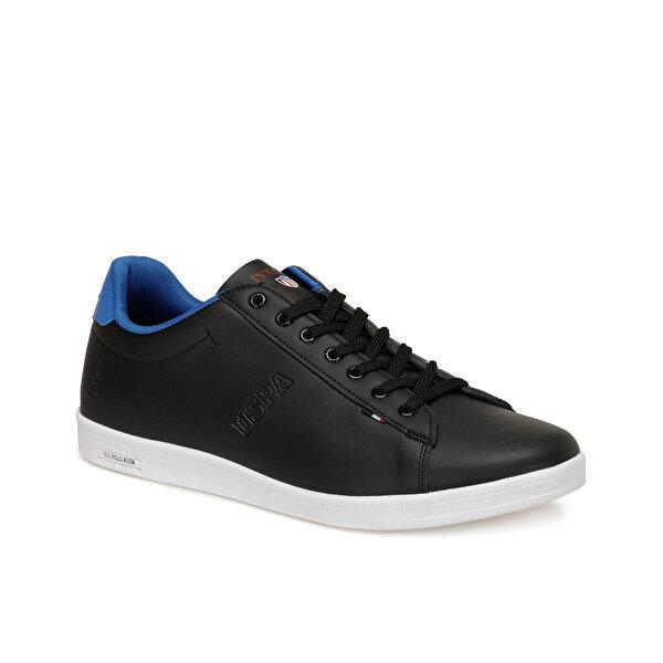 U.S. Polo Assn. FRANCO. Siyah Erkek Sneaker Ayakkabı