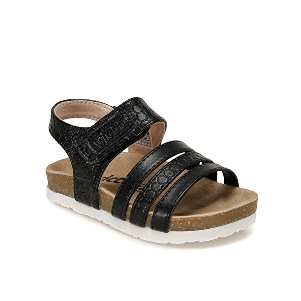 VICCO 321.B20Y.351 Siyah Kız Çocuk Sandalet