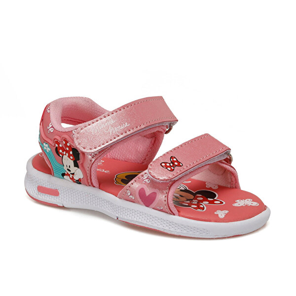 Mickey Mouse 91.ANAEL.P Somon Kız Çocuk Sandalet