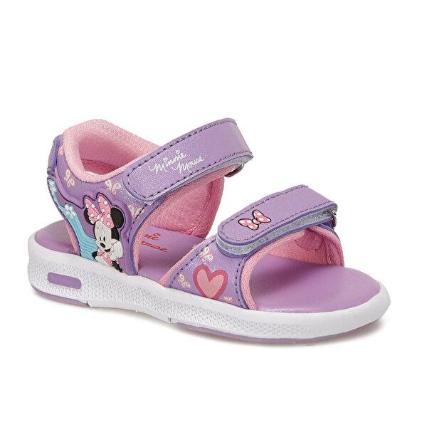 Mickey Mouse 91.ANAEL.B Lila Kız Çocuk Sandalet