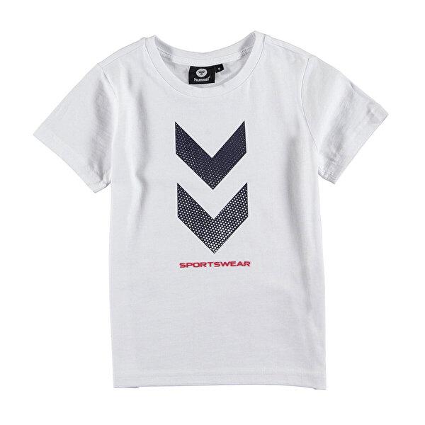 Hummel HMLGRAYSON  T-SHIRT S/S Beyaz Erkek Çocuk T-Shirt