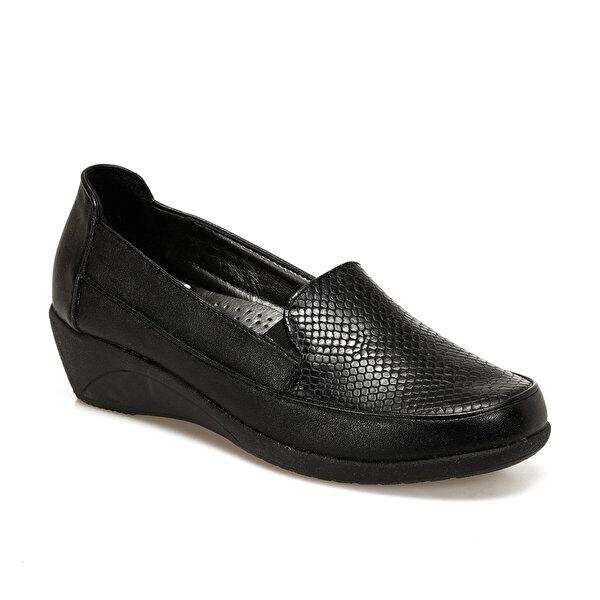 Polaris 72.158032.Z Siyah Kadın Comfort Ayakkabı