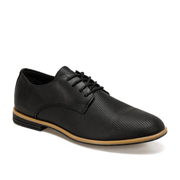 JJ-Stiller 851-2 Siyah Erkek Klasik Ayakkabı