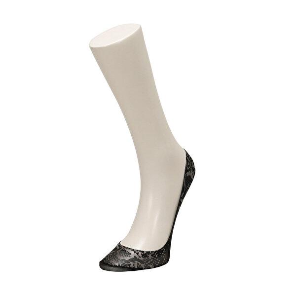 Miss F SNAKE 2 LI SUBA-W Beyaz Kadın 2Li Soket Çorap