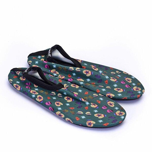 Esem SAVANA Deniz Ayakkabısı Çocuk Ayakkabı Yeşil