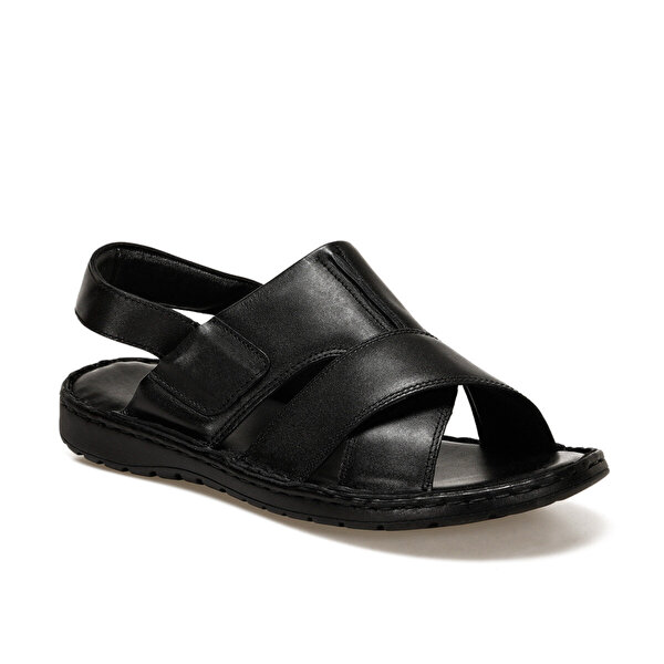 Flogart INT1120Y120 Siyah Erkek Sandalet