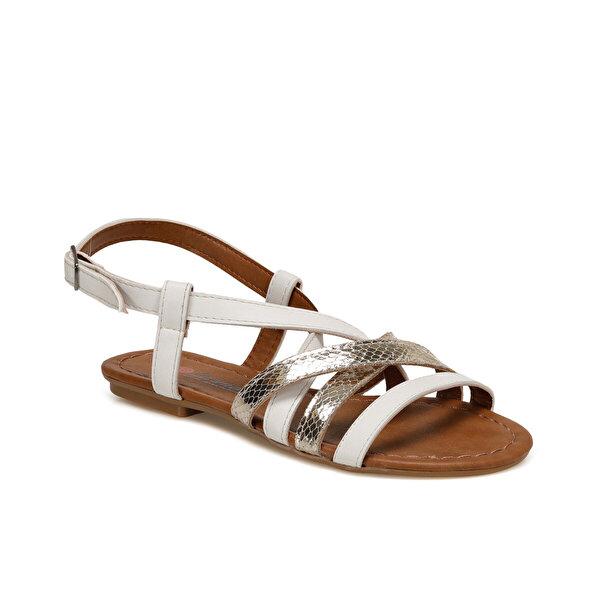Carmens ART03 Beyaz Kadın Sandalet