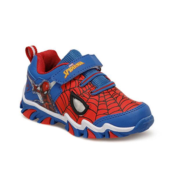 Spiderman 91.MASKO-3.P Mavi Erkek Çocuk Spor Ayakkabı
