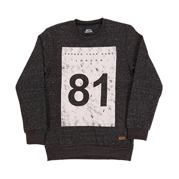 Slazenger ST28WE021-500 Siyah Erkek Sweatshirt