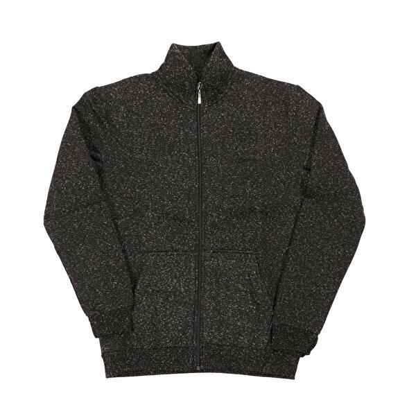 Slazenger SANFORD Siyah Erkek Sweatshirt